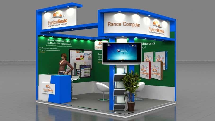 Exhibition Booth Design D : Rancelab invites you to aahar chennai restaurant