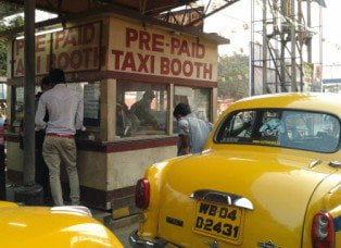 prepaid taxi booth billing software