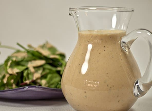Salad Dressing Beauty And Nutrition In One Platter