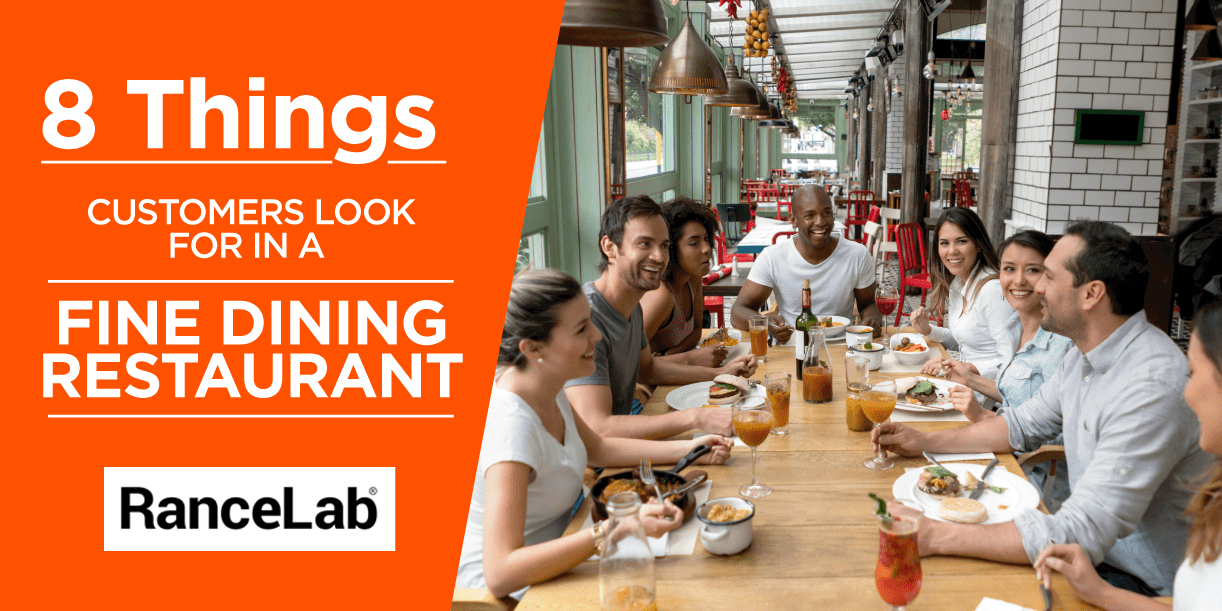 8 Things Customers Look For in a Fine Dining Restaurant