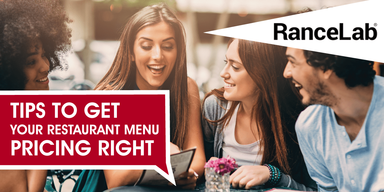 10 tips to get your menu pricing right