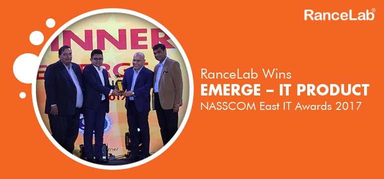 rancelab-nasscom-east-it-award-2017