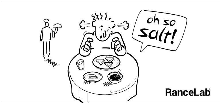 3. Wrong seasoning