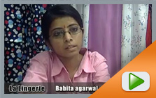 Interview of Babita Agarwal (Store Incharge of La Lingerie)